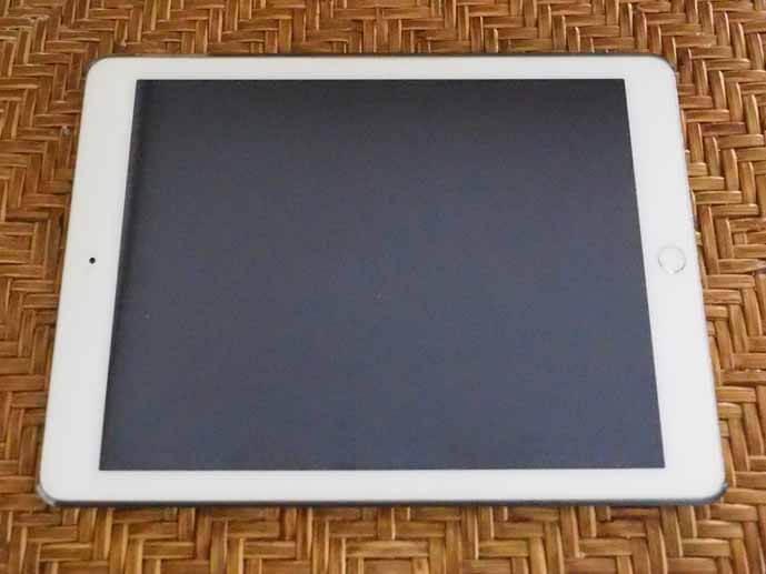 iPadの写真です。